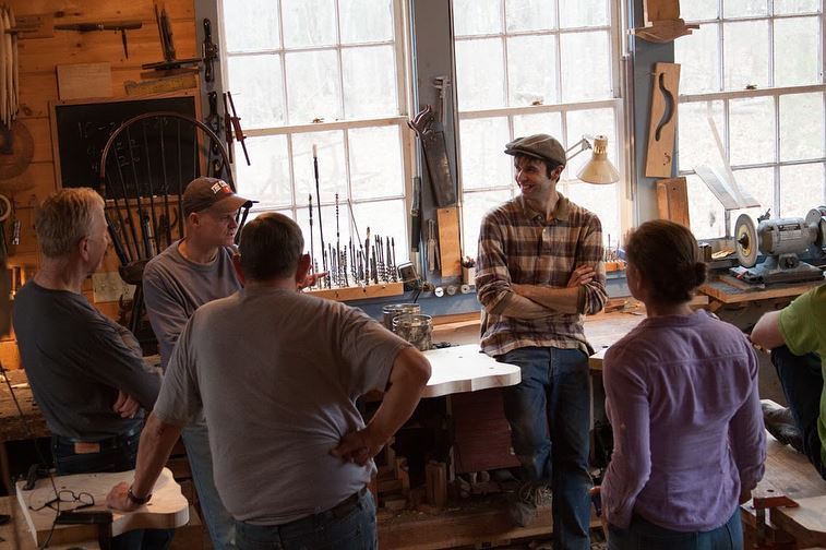 students in workshop